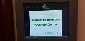Financial Conference for shareholders in Warsaw
